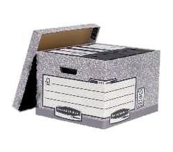 FELLOWES Contenedor doble grosor de cartón con tapa, 29×33,3×39 cm  00810-FFEU