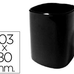 CUBILETE PORTALAPICES 102-N PLASTICO NEGRO 103×80 mm 102-N