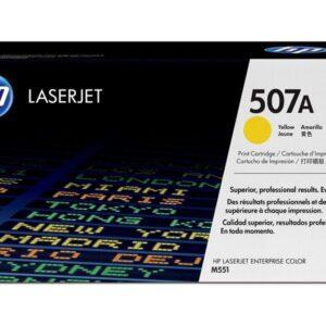 HEWLETT PACKARD Toner Laser 507A Amarillo  CE402A
