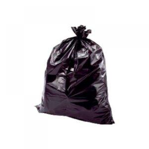 BUNZL Bolsas de basura Paquete 10 ud 800×1050 Negra ALTA RESISTENCIA ref.15451