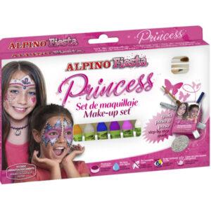 ALPINO Pinturas Maquillaje Princess 6 Ud Colores surtidos Barra Barra DL000112