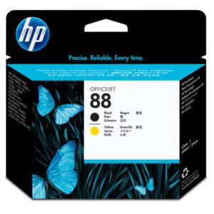 HEWLETT PACKARD Cabezal Inyección HP88 Negro/Amarillo   C9381A
