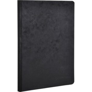 CLAIREFONTAINE Cuaderno Age Bag 96h A4 Liso Negro