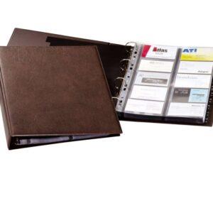 DURABLE Tarjetero Visifix    A4 Para 400 tarjetas 155012
