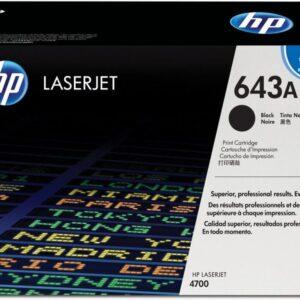 HEWLETT PACKARD Toner Laser 643A Negro  Q5950A