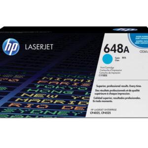 HEWLETT PACKARD Toners Laser 648A Cyan  CE261A