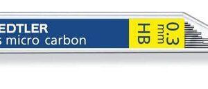 TUBO 12 MINAS MARSMICRO 0,3 HB STAEDTLER 25003-HB