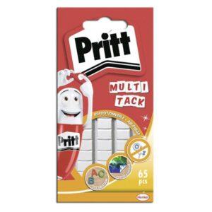 PRITT Adhesivo Multi-Tack Masilla 65pastillas Removible Limpio  214000