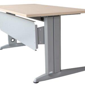 ROCADA Accesorio para mesa Serie Metal Faldon 160x30cm Gris