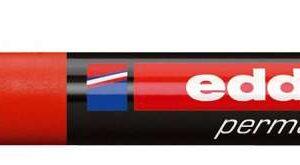 EDDING Marcador permanente recargable Edding 300 Trazo 1,5 – 3 mm Rojo Punta cónica 300-02