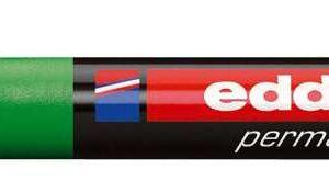 EDDING Marcador permanente recargable Edding 300 Trazo 1,5 – 3 mm Verde Punta cónica