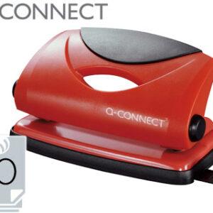 TALADRADOR Q-CONNECT KF02154 ROJO -ABERTURA 1 MM -CAPACIDAD 10 HOJAS