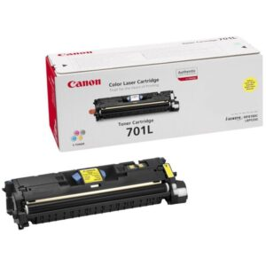 CANON Toner Laser CRG701LY Amarillo 9288A003