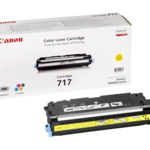 CANON Toner Laser 717Y Amarillo 2575B002