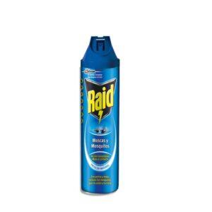RAID Insecticida Fragancia floral 600 ml Aerosol 628949