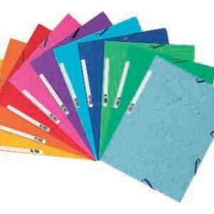 EXACOMPTA Carpeta Gomas Nature Future Con solapa 320 x 240 10 Colores surtidos vivos 55510E