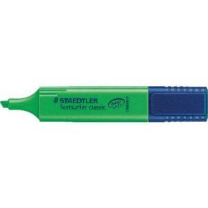 STAEDTLER Marcador fluorescente brillante Textsurfer Trazo 1-5mm Punta biselada  Verde 364-5