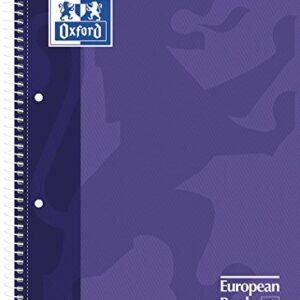 OXFORD Cuaderno School 80h A4 Cuadricula 5×5 Lila 100430201