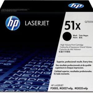 HEWLETT PACKARD Toner Laser 51X Negro 13.000pg  Q7551X