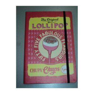 DOHE CUADERNO A5 SERIE CHUPA CHUPS – THE ORIGINAL LOLLIPOP 39967