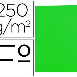 GIO Subcarpetas Gio by Elba Caja 50 ud Folio Cartulina Verde 250 G