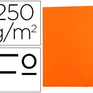 GIO Subcarpetas Gio by Elba Caja 50 ud Folio Cartulina Naranja 250 G