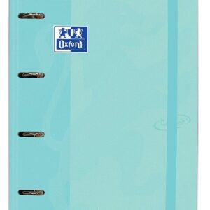 CARPETA CARTON A4+ OXFORD 4 ANILLAS TOUCH + RECAMBIO COLOR ICE MINT PASTEL 400127153