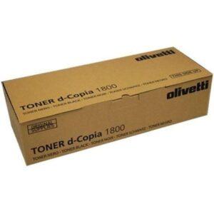 OLIVETTI Toner Copiadora 12A7365, 12A7465 Negro B0839