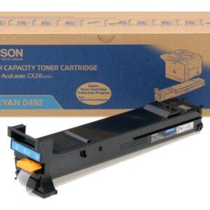 EPSON Tóner láser 0492 cian C13S050492
