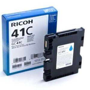 RICOH Cartucho de gel GC-41C Cian 2.200pg