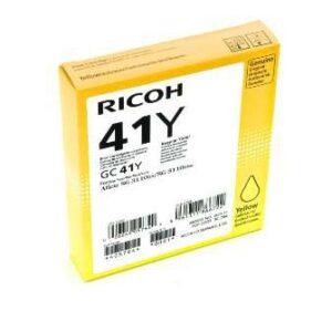 RICOH Cartucho de gel GC-41Y Amarillo 2.200pg