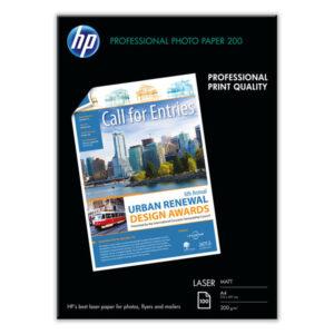 HEWLETT PACKARD Papel impresión 210X297 200 Gr Mate Q6550A