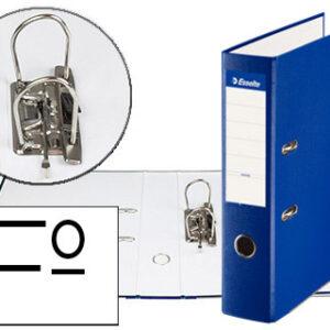 ESSELTE Archivador Palanca Folio Lomo 75mm Azul 42303