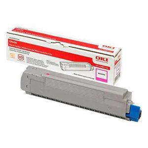 OKI Toner Laser  Magenta Para C8600 6.000pg  43487710