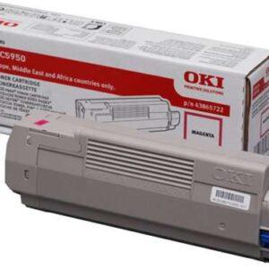 OKI Toner Laser  Magenta  43865722