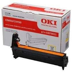 OKI Tambores laser  Amarillo  43870021