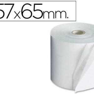 Rollo papel sumadora autocopiativo 57×65 mm 4576521B / 2890