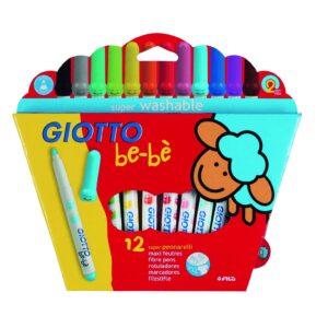 GIOTTO Estuches rotuladores Giotto BE-BE 12 ud Colores surtidos 466700