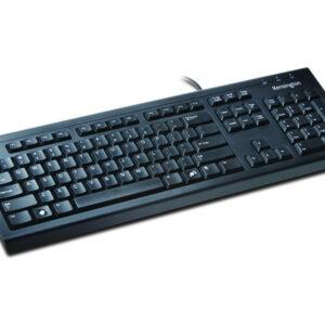 KENSINGTON Teclado con cable ValuKeyboard QWERTY usb negro 1500109ES