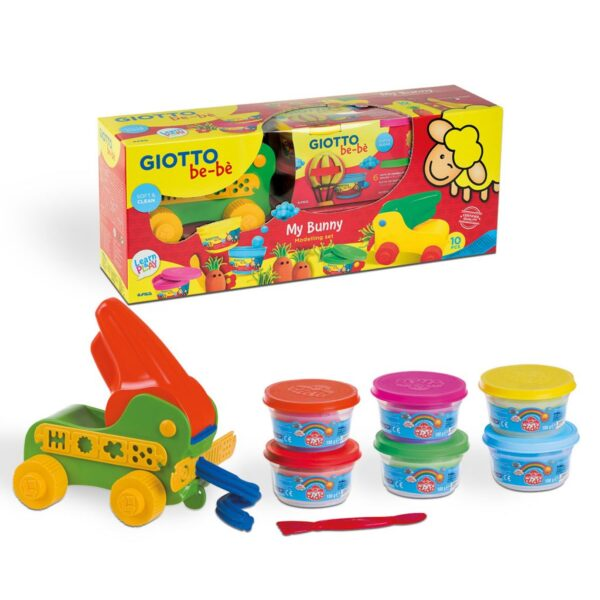 KIT MODELAR MY DOUGH BUNNY GIOTTO BEBE 479300
