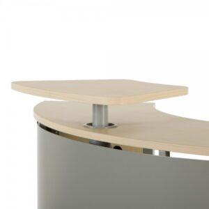 ROCADA Accesorio proyección para módulo de recepción serie Welcome 50x15x36cm Aluminio/Haya
