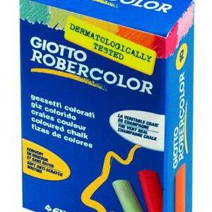 GIOTTO Tizas Caja 10 ud Colores surtidos Antipolvo 538900