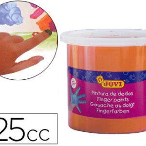 BOTE 125CC PINTURA DE DEDOS NARANJA JOVI 560/06
