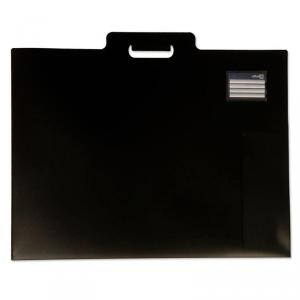 CARPETA DIBUJO A2 OFFICEBOX C/ASA PLASTICO NEGRO 57268