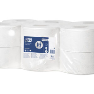TORK Papel higienico Pack 12 rollos 915 servicios 2 capas Para T2