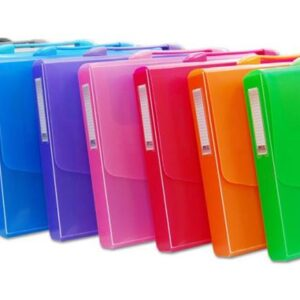 OFFICEBOX MALETIN PP A-4 CON ASA «COLOR LINE» COLORES