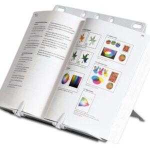 FELLOWES Atril para libro Clips pagina abierta Altura y angulo vision Antideslizante A4 21140