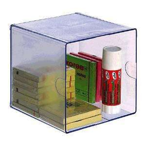 ARCHIVO 2000 Cubo organizador transparente 155x155x155 mm 6701CSTP