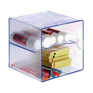 ARCHIVO 2000 Cubo organizador Con divisor transparente 155x155x155 mm 6705CSTP