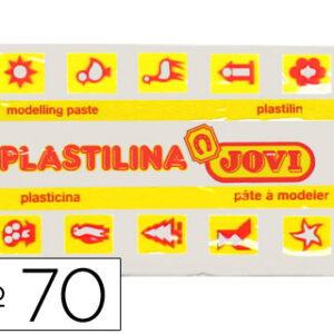 PLASTILINA JOVI 50 GR. BLANCO 70-01